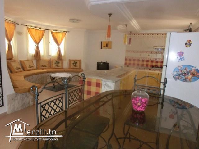 A louer un joli rez de jardin à Sahloul