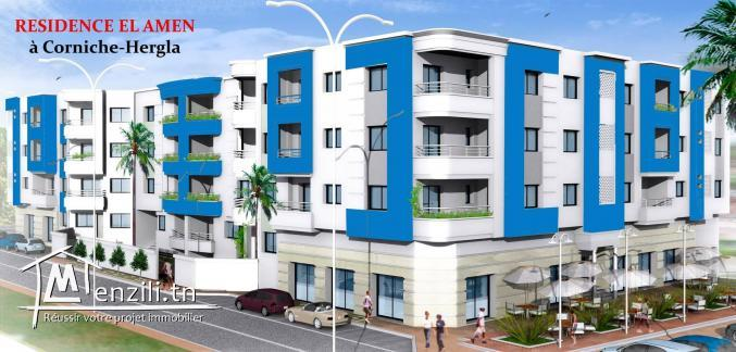 Appartements & Place Parking  à Sousse Hergla