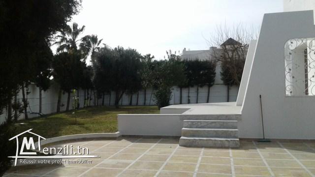 A louer à l'année une magnifique villa à Kantaoui