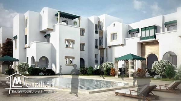 Appartement S+3 dans Résidence Dalia à Yasmine Hammamet