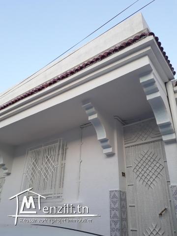 Vente de maison à ibn sina 2  cité avicenne Tunis