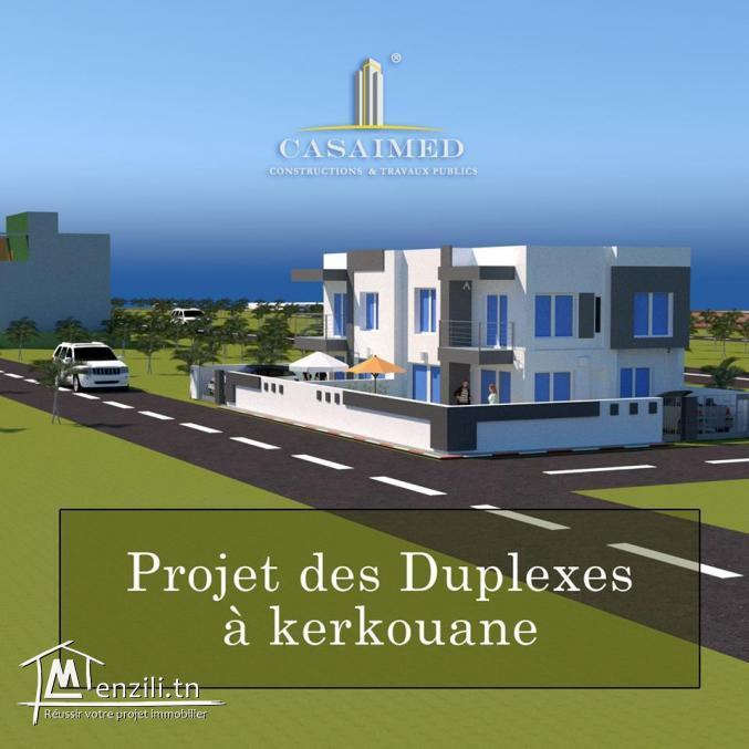 Duplex en cours de construction