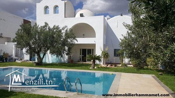 Villa Dalida à Hammamet Nord
