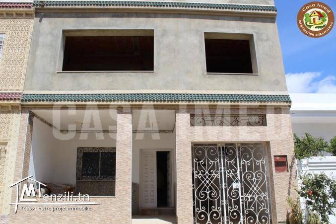 maison s+3 inachevée à coté du port Beni Khiar,