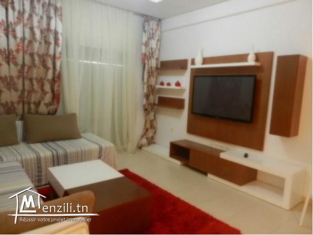 A louer pour la saison estivale un joli appartement à Chott Mariem