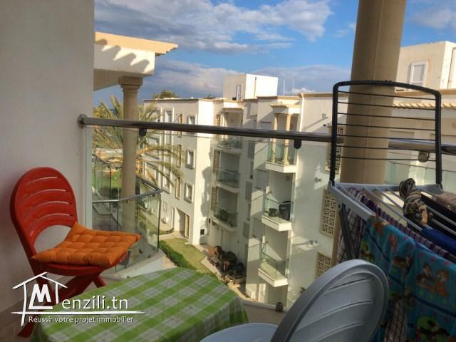A louer  un joli appartement à Chott Mariem prix 1500