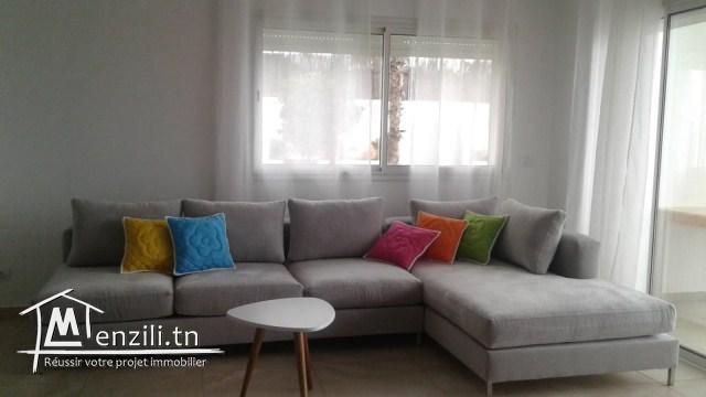 A louer pour la saison estivale un magnifique appartement à Hergla