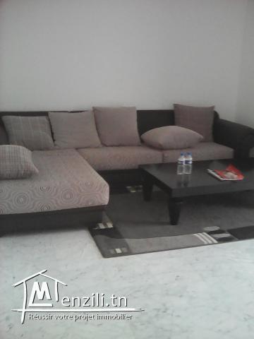 A vendre un joli appartement à Sousse prix : 123 milles
