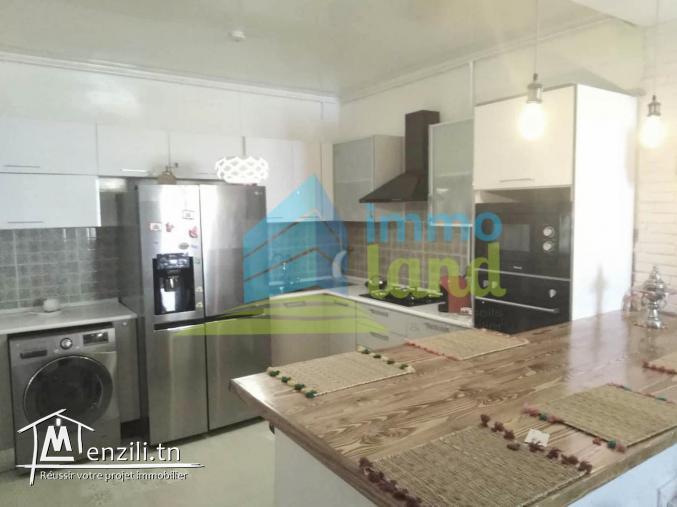Appartement S2 de 113 m2 à Menzah 6
