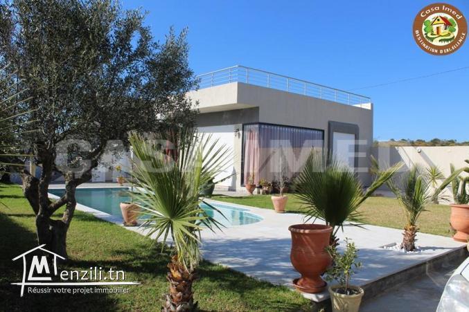 Villa avec piscine à ghardeya