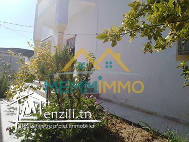 Villa de 230 m² sur un terrain de 220 m²- Rajich_Mahdia- 250000TND