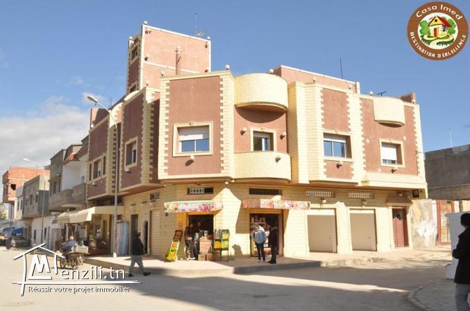Complexe commercial en plein centre-ville korba