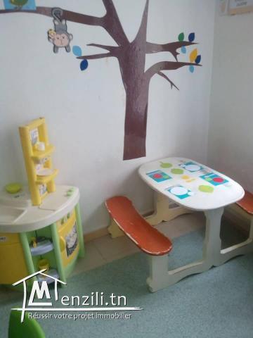 vend fond de commerce jardin d'enfants