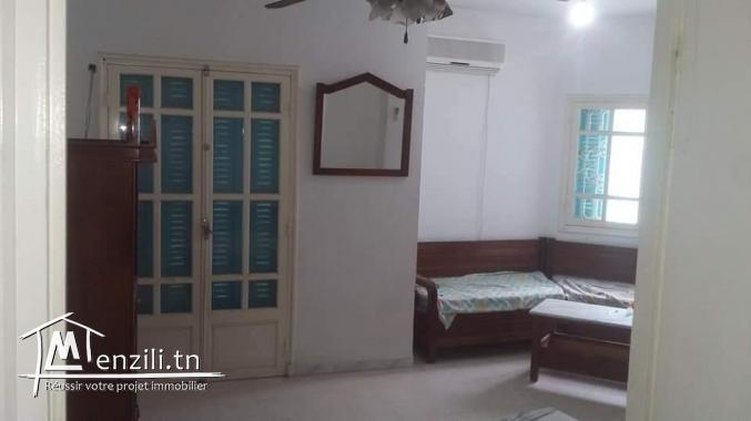 A vendre un appartement S+3 (vue sur mer)  à Sidi Abdelhamid -Sousse , au première étage