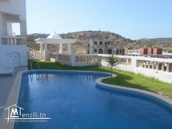 villa avec piacine s+4 al à hammamet nord