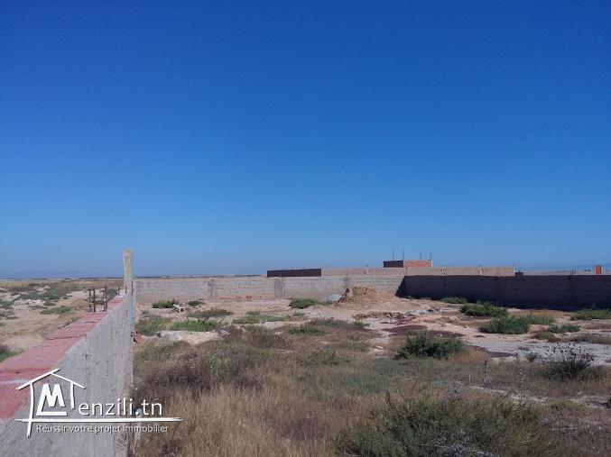 Vente d'un terrain à Raoued plage de 550m²