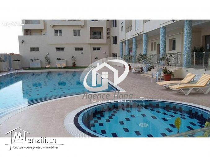 Appartement pied dans l'eau avec piscine