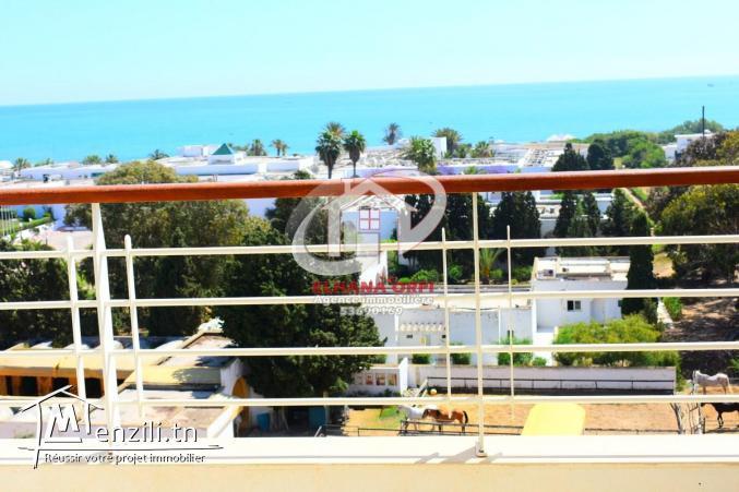 a louer appartement vue sur mer et pied dans l'eau mahdia