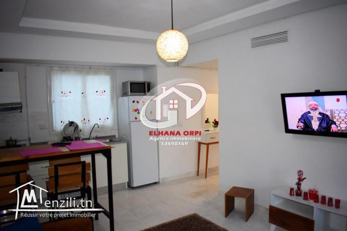 a louer appartement S+1 zone touristique mahdia