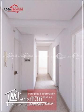 Appartement bien situé à khezema