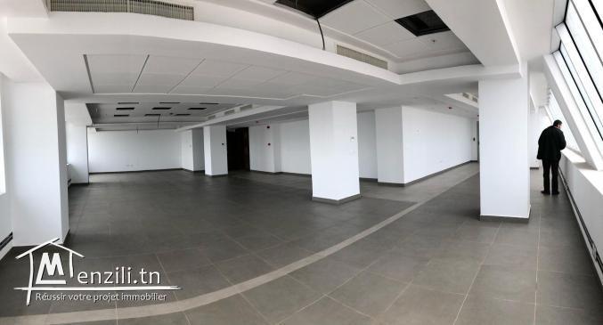 Open space 500m² Centre urbain nord