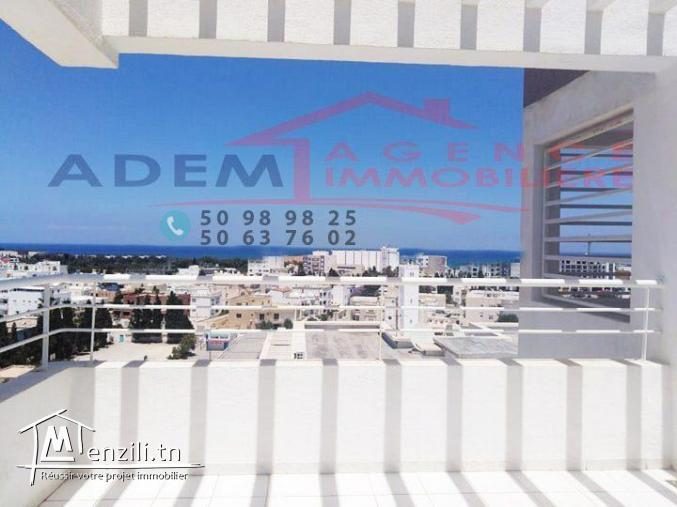 Appartement avec une vue panoramique et place parking sous sol
