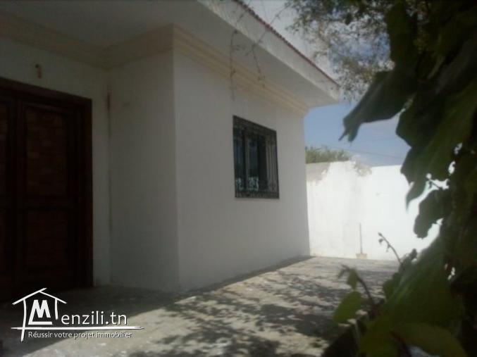 Villa monchar hamammet avec très belle vu de monatgne