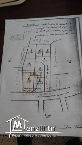 Terrain constructible a vendre