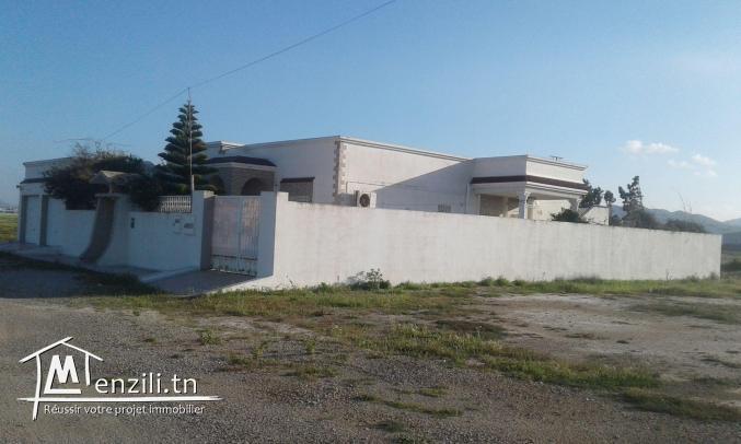 villa et lot à vendre à Soliman - Nabeul