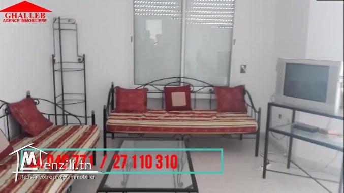 a louer un appartement à hammamet Prix : 100 dt /nuitée