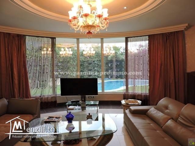 À Louer Villa ELIZABETH - à Yasmine Hamm.  (Réf. LV1096)