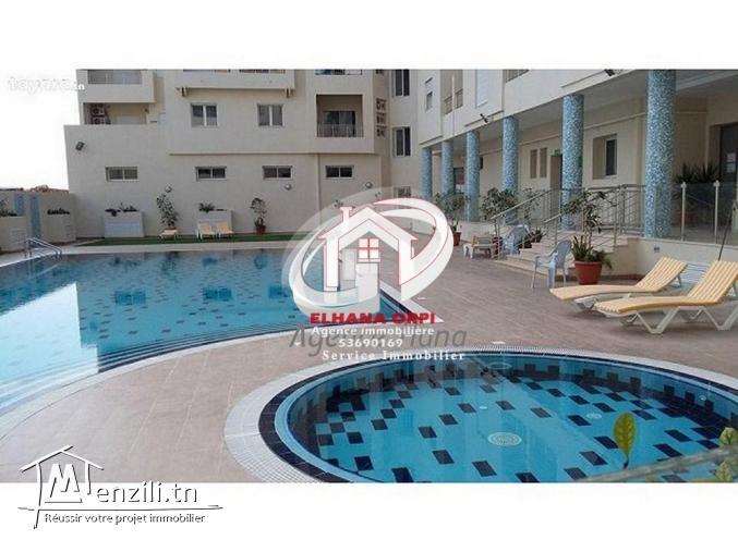 appartement s+3 avec piscine