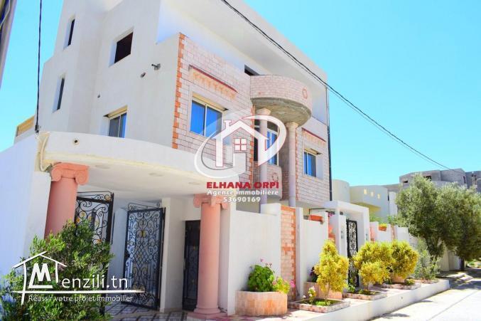 villa à vendre haut standing mahdia