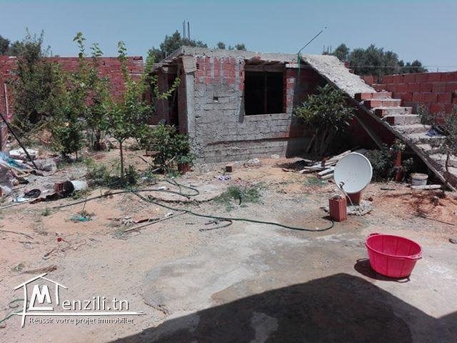 A vendre une maison Hammamet a bessibesia