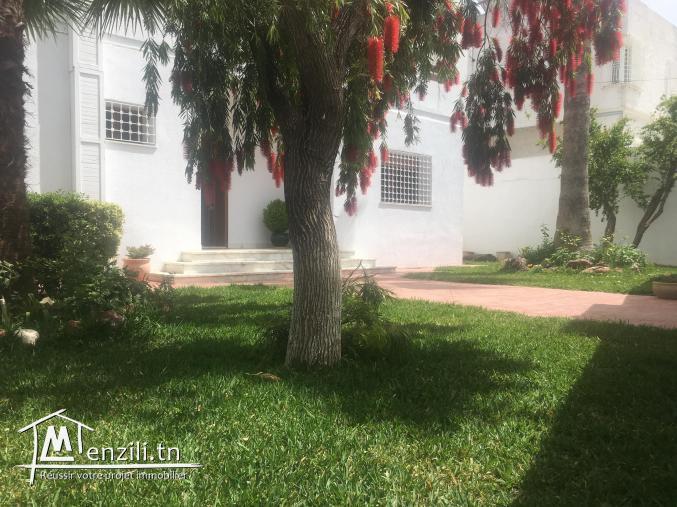 À vendre une belle villa à Rass Tabia cité Rommana