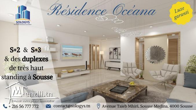 Résidence Océana au cœur du zone touristique à Sousse