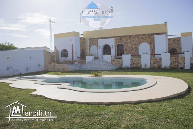 magnifique villa à hammamet