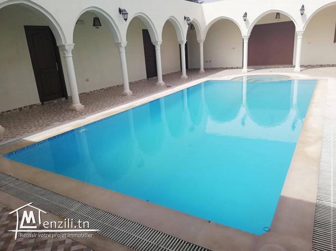 Villa avec piscine à louer a Djerba