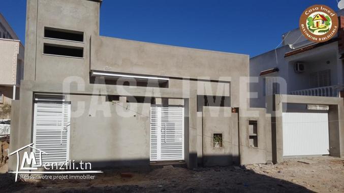 Une villa inachevée à 5 min de plage béni khiar