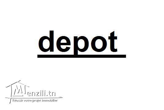 DEPOT DE 200M2 ZWAWINE PR USINE