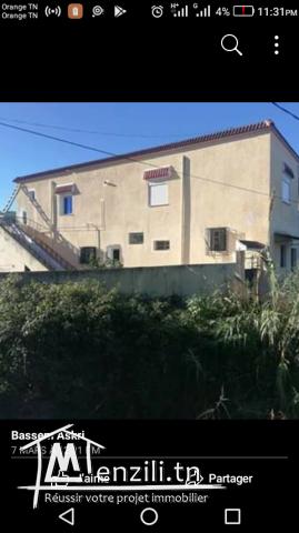 Maison à vendre à Tabarka