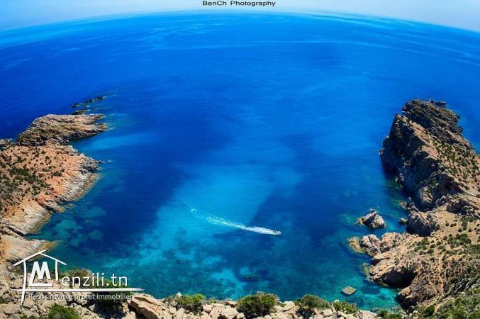 un terrain à El Haouaria plage