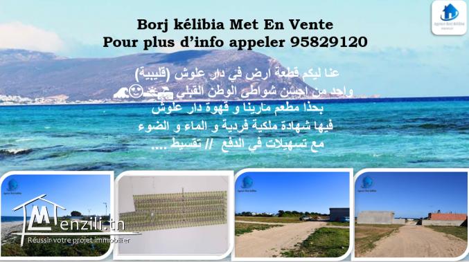 borj kelibia met en vente terrain a dar allouch 95829120