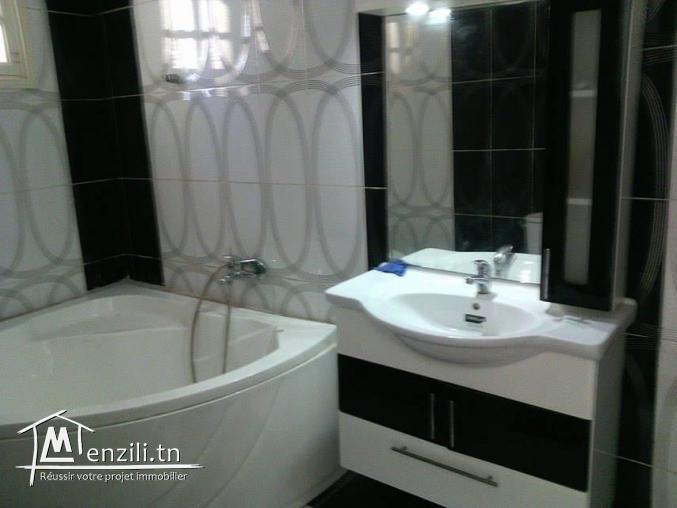 étage de villa  Style américain d'une superficie de 175 m2
