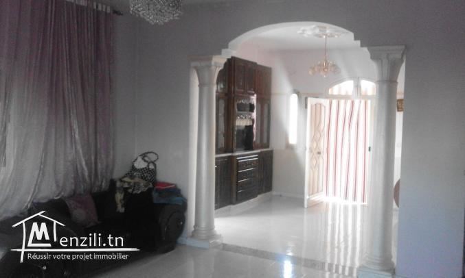 étage  de villa meublée à rafrafplage pour saison d 'été