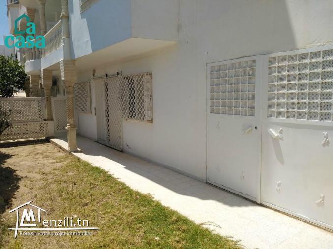 étage de villa en s 3 vide de 170 m² à Hammamet