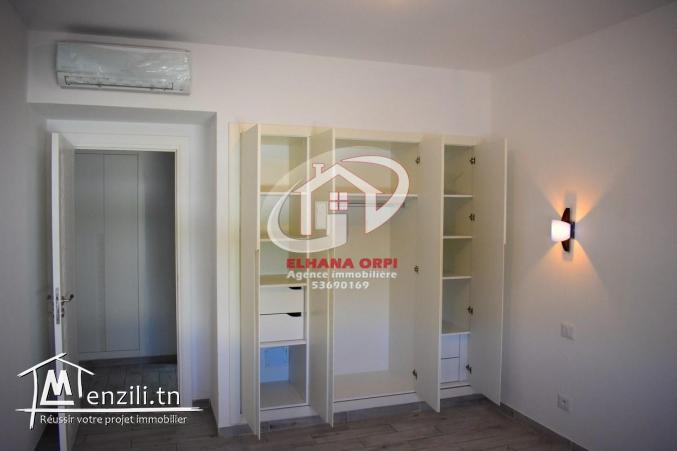 appartement s+2 haut standing pour location de vacance