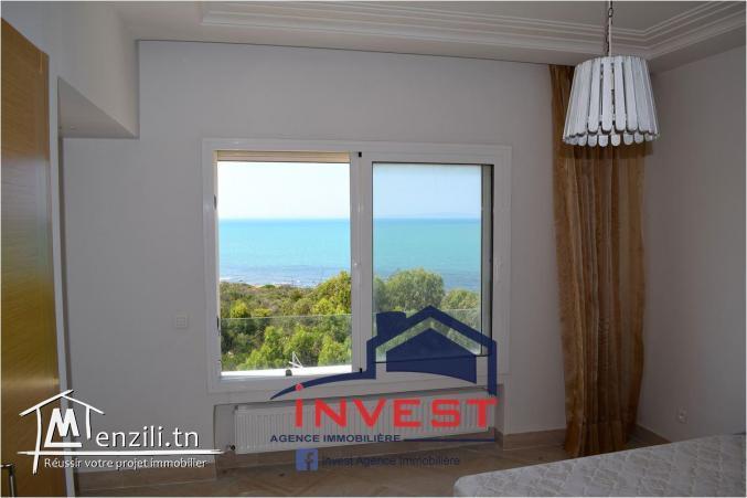 Magnifique  appartement meublé vue sur mer
