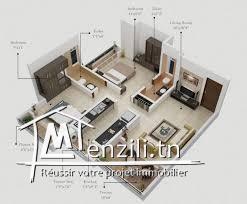 appartement s+2 magnifique et standing super luxueuse