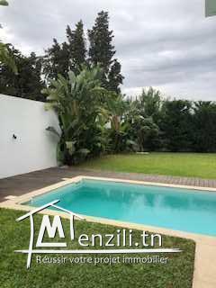 Villa avec piscine à la soukra Ref MVL 0247
